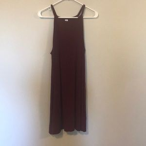 High Neck Summer Dress